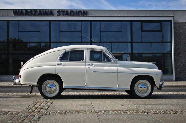 The car called Warszawa (Warsaw) produced in Warsaw, Poland, 1951-1973!