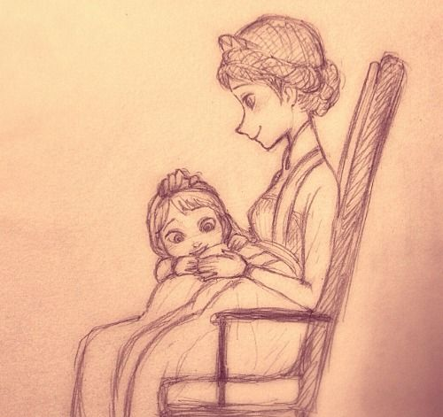 esa sketches frozen anna and sisters - photo #39