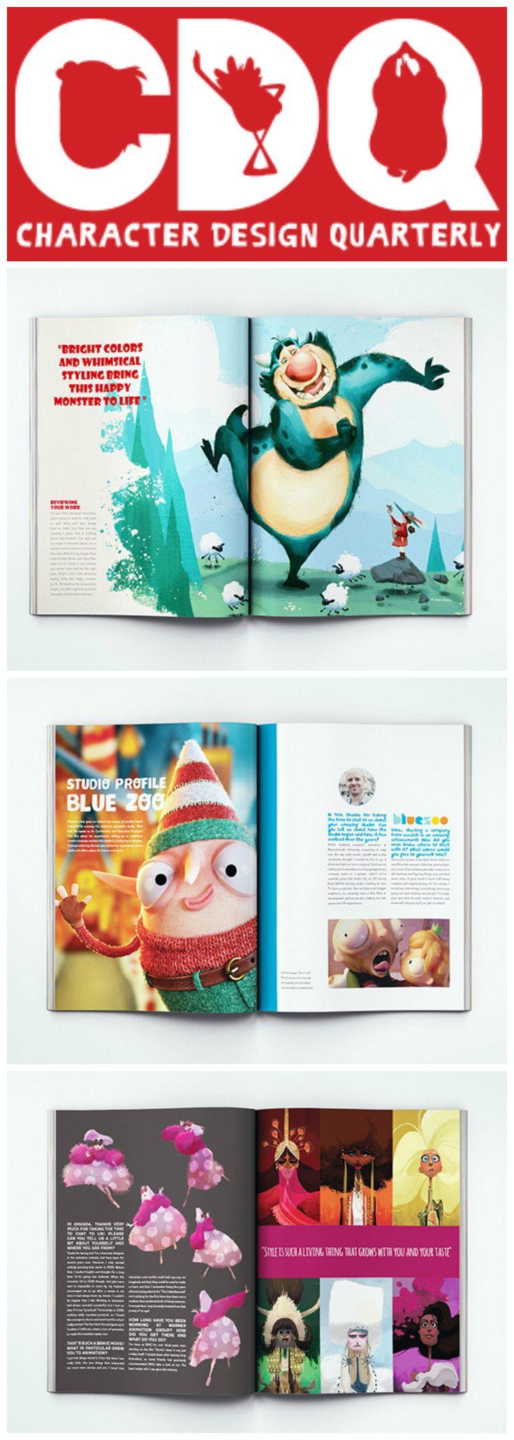 Character Design Quarterly Magazine : Best dartist magazine images on pinterest interview
