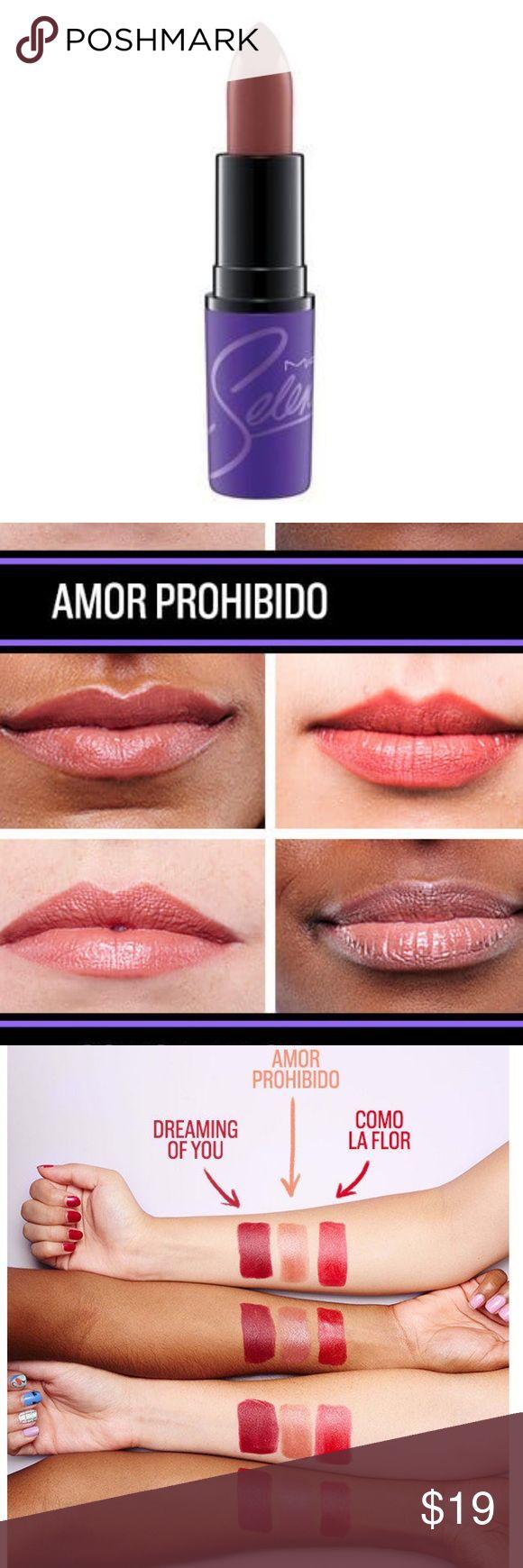 Limited: MAC x Selena Lipstick - Amor Prohibido Mac Selena Amor Prohibido lipstick New Authentic MAC Cosmetics Makeup Lipstick