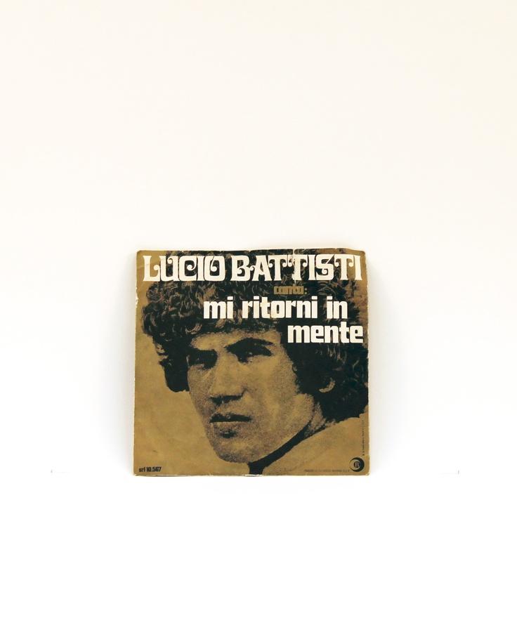 Vinile 45 giri di Lucio Battisti.