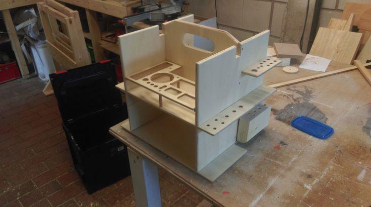 Werkzeugkasten - L-Boxx Einsatz für Handwerkzeug Bauanleitung...