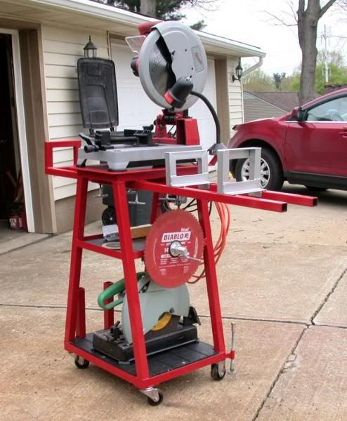 Chop Saw Stand - PinoyHandyMan Do-It-Yourself Community