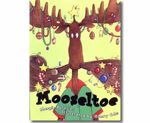 Mooseltoe by Margie Palatini Audio book CD New in package Scholastic 2007