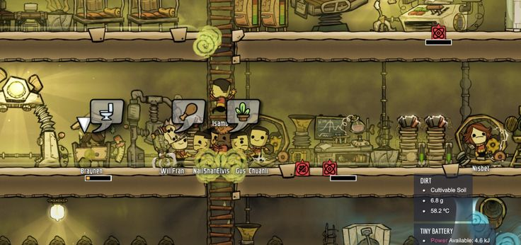 Infinite dirt appear/disappear with lavatory - Oxygen Not Included - [Early Access] - Klei Entertainment Forums