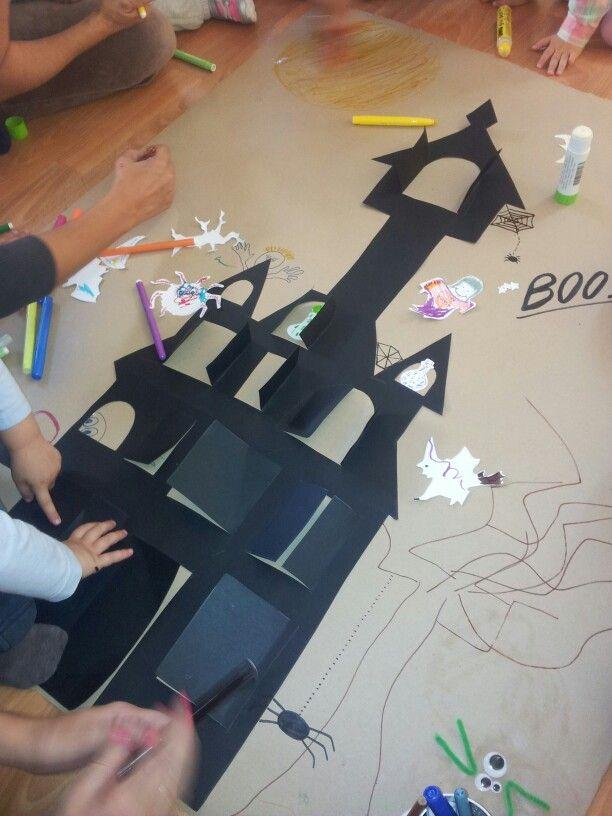 Halloween scary castle!