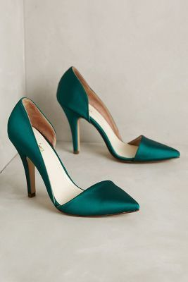 Vanina Sienna Satin Pumps Holly 38 Euro Heels