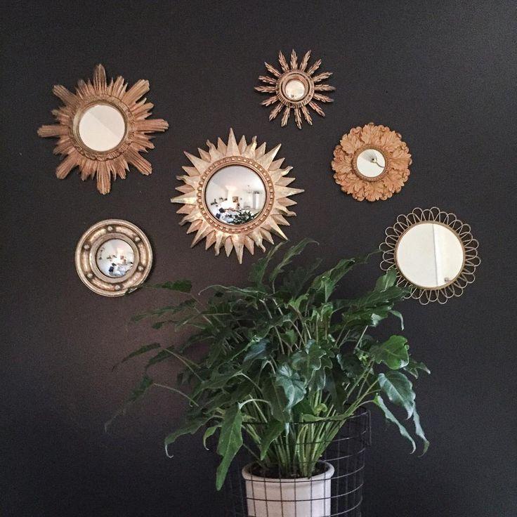 """""""Solspeglar kan jag aldrig få för många av... #lycka #loppis#loppisfynd #loppmarknad #loppislycka #mässing#spegel#solspegel #sunmirror…"""""""
