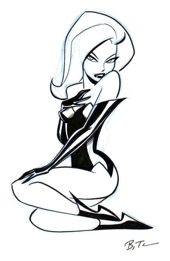 Batman: The Animated Series - Poison Ivy by Bruce Timm
