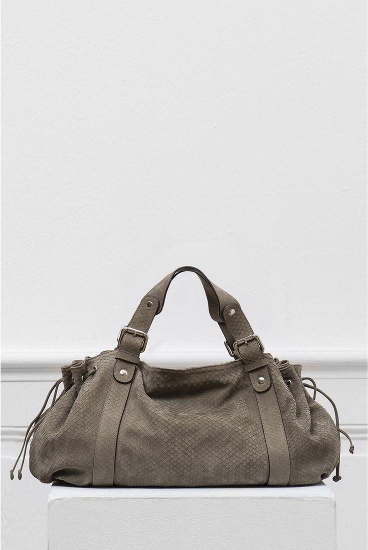 Le 24h zippé, sac gris | gerard darel