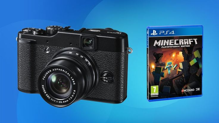 Buy a Fuji Finepix X10 for just £199.99 - plus pre-order Minecraft for PS4 for £14   A great price on a great compact camera, and save when you pre-order Minecraft for PS4 now. Buying advice from the leading technology site