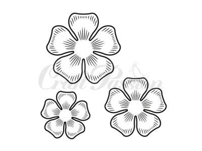 Stempel Craft Passion - Kwiaty nr.2