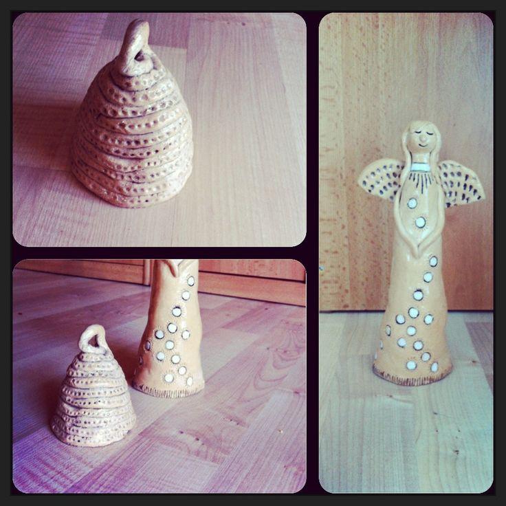 Christmas pottery