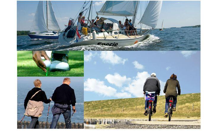Actief zijn: zeilen, wandelen, fietsen aan de Zeeuwse Kust en Nationaal Park de Oosterschelde