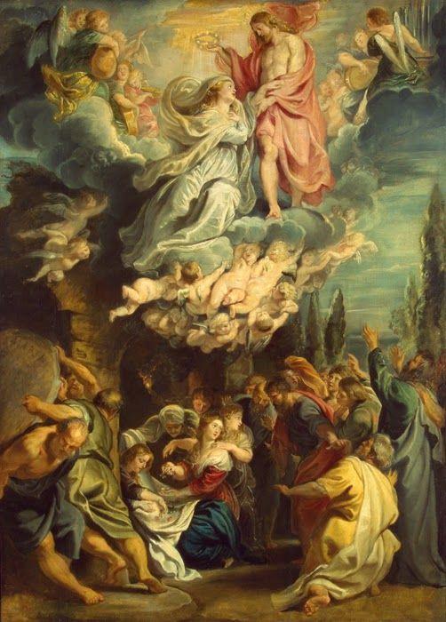 Sacra Galeria: ASSUNÇÃO DE NOSSA SENHORA AO CÉU