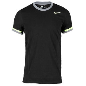 Nike Men's Dri-Fit Cotton Tennis Crew.  Looking for the old school cotton feel crew click here to purchase yours at TennisExpress.com