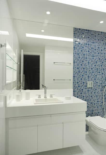 25+ melhores ideias sobre Banheiros modernos no Pinterest  Projeto moderno d -> Banheiros Grandes Modernos