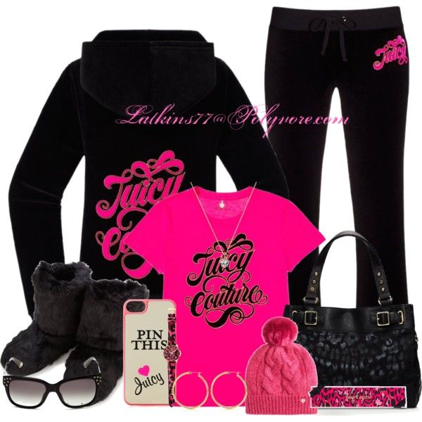 """""""Juicy Couture"""" by latkins77 on Polyvore"""