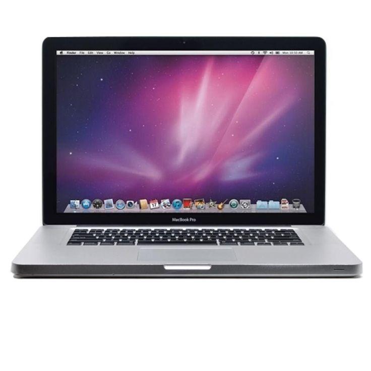 Apple MacBook Pro Core 2 Duo T9600 2.8GHz 8GB 256GB GeForce 9600M GT DVD±RW 15.4 AirPort OS X w-Webcam (Mid 2009) - B