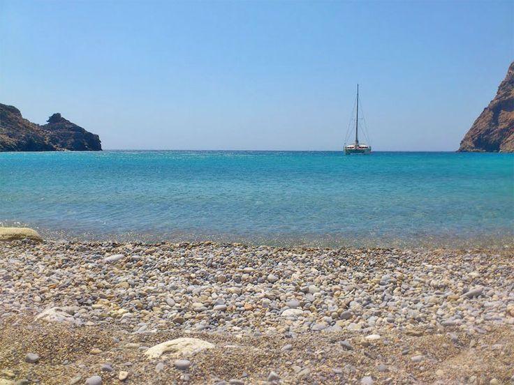 Helatros Beach, Kasos, #mysteriousgreece