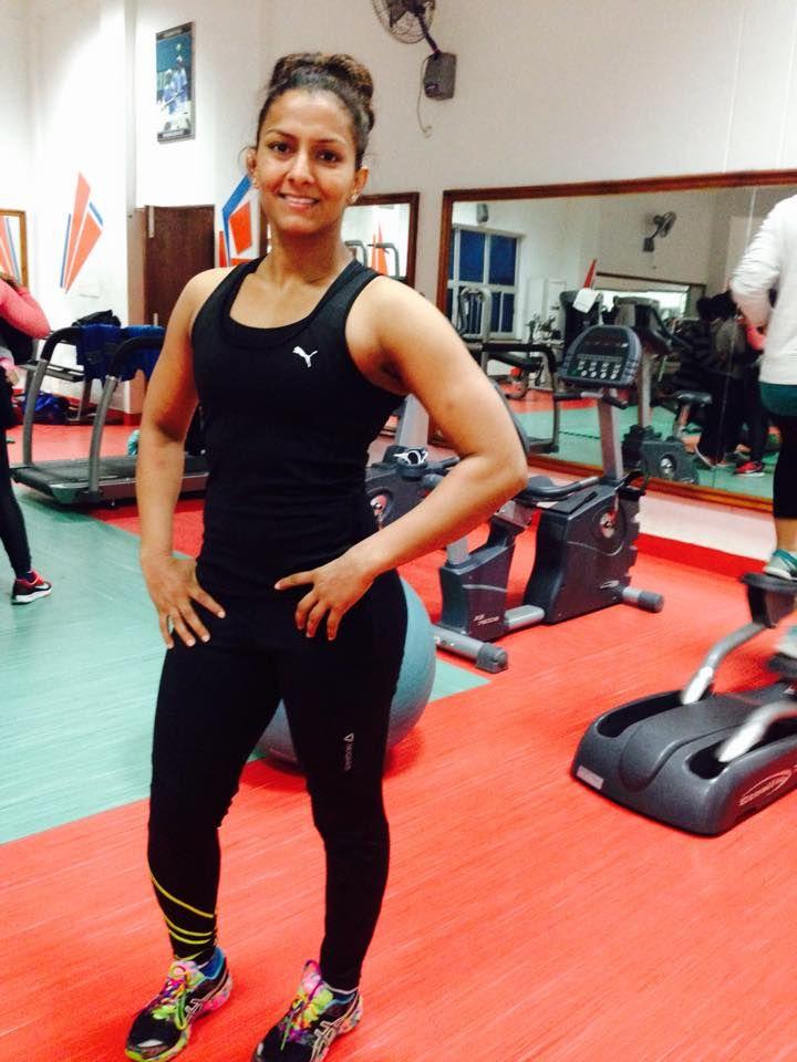 Geeta Phogat Personal Facebook Photo   Cute Indian Female Wrestler Haryana