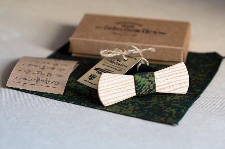 Купить подарок на 9 мая. Милитари принт в галстуке бабочке. Тенденции весна-лето 2014. Милитари принт в галстуке бабочке. Галстук бабочка из дерева. Тенденции весна-лето 2014 #twinsbowties  #wodenbowties #woodbowtie #woodenbowtie #woodbowties