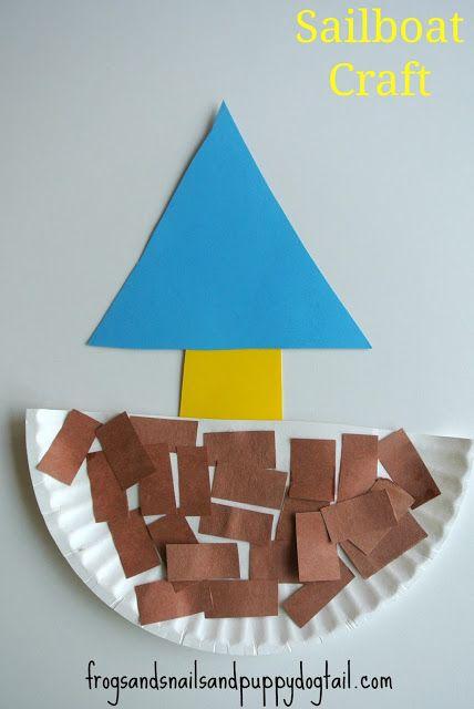 Yacht Crafts For Preschoolers