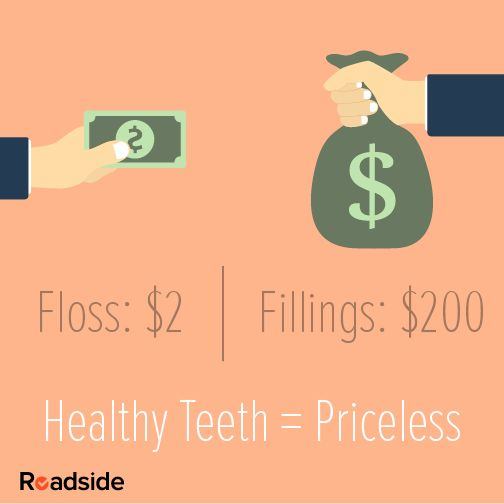 #floss #dental #teeth