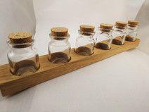 Gewürzregal Eichen-Holz, Reserviert für Daniela