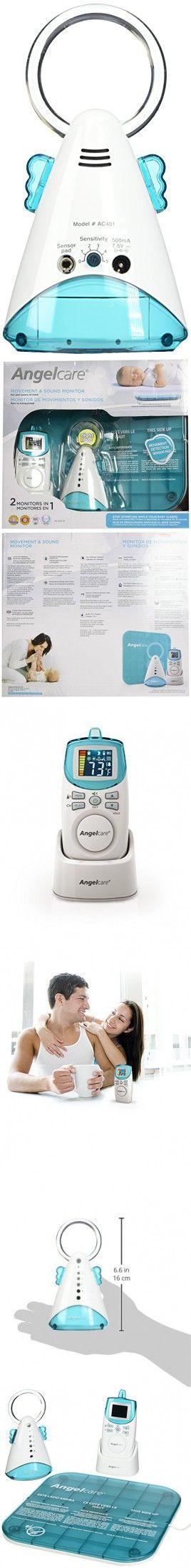Angelcare Movement and Sound Monitor, Aqua/White