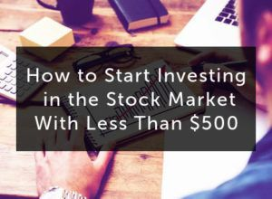how to start investing in stock market