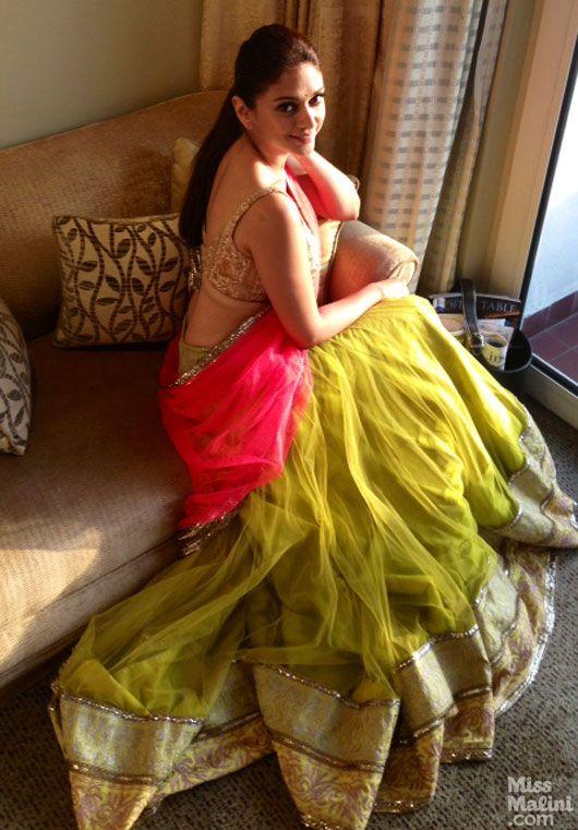 Aditi Rao Hydari gets the Rajasthani Princess look in Manish Malhotra & Jewelry by PC Chandra