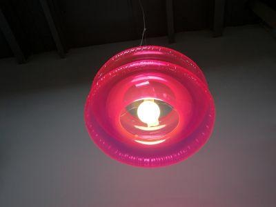Lampa wisząca Big Pink // Puff Buff
