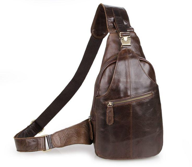 Мужчины сумки из натуральной кожи мужчины груди пакет моды кожа груди мешок упаковки кофе цвет мужчины сумка человек мешок мобильного # VP-J2467C