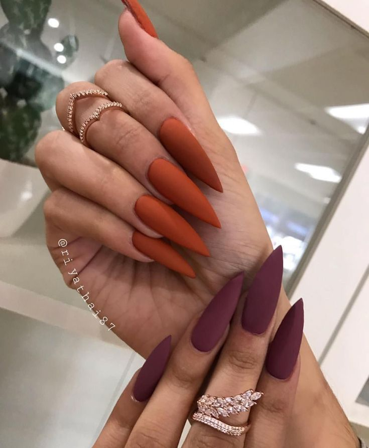 59 cute fall nails which work for every age – Page 80 of 102