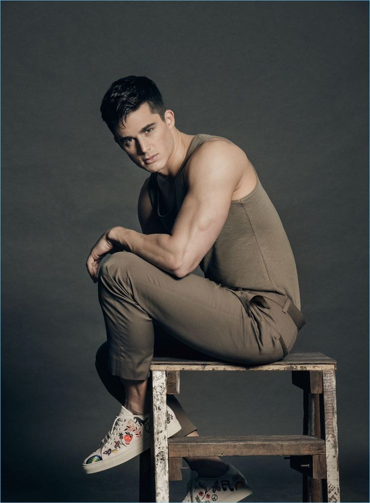Jerick Sanchez photographs Pietro Boselli for the May 2017 issue of Mega Man.