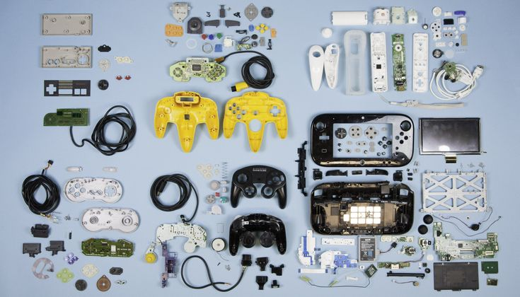 Part 1 of our hardware teardown of the evolution of Nintendo controllers.
