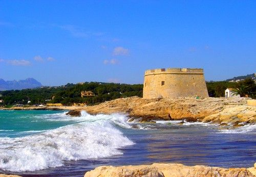 Moraira (Costa Blanca) Spain. My home away from home. I hold this place so close to my heart! <3