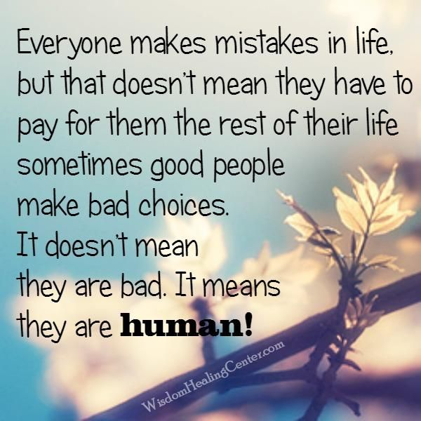 """#Humans are interesting creatures. We tell people to """"move on"""" but we often hinder them with #guilt and #fatalistic #pictures of what a #mistake means. This """"double-bind"""" message is more indicative of our #inability to collectively accept #forgiveness and....."""