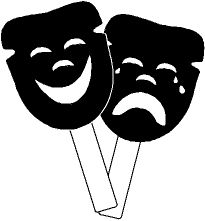 Best 25 comedy tragedy masks ideas on pinterest comedy for Kiss mask template