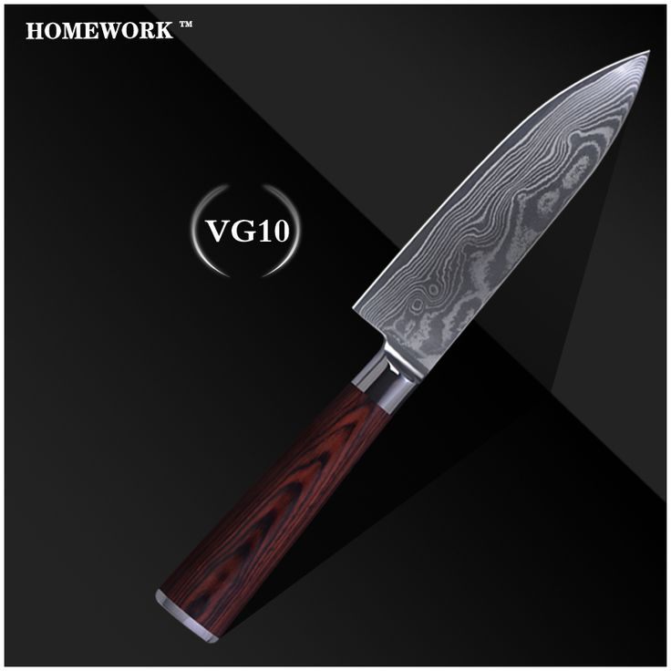 Дамаск шаблон ножи 6 дюймов нож шеф-повара высокое качество дамаск VG10 стали кухонные ножи лучшие инструменты для приготовления пищи цвет деревянной ручкой