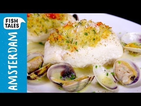 Thanksgiving HALIBUT & CLAM Sauce | Bart's Fish Tales - YouTube