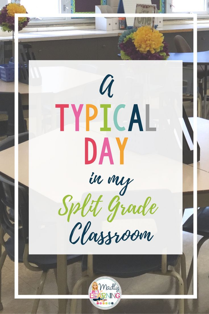 Curious about what it's like to teach a split grade class? Click through for an overview of a day in a 4/5 split!
