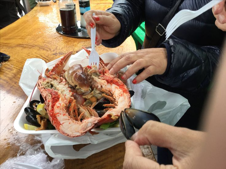 Delicious Seafood In Oban July 2016