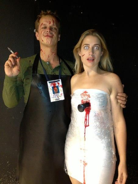 Dexter and victim couple costume!!!