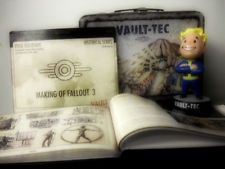 FALLOUT 3 Collectible Lunchbox+Bobblehead+Making DVD+Art Book PS3 Xbox 360 LOT!