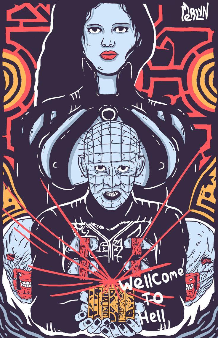 posters horror movies Horror, Horror movies, Hellraiser