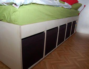 Storage Bett Stauraum,Bett,Bettenbau,Bettkasten