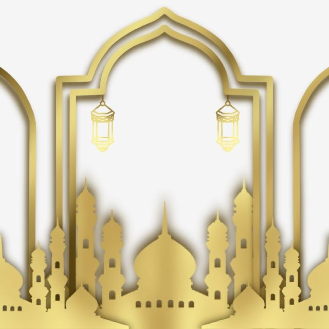 Golden Ramadan Realistic Decoration Golden Ramadan Decoration Png Transparent Clipart Image And Psd File For Free Download Islamic Decor Ramadan Kareem Ramadan