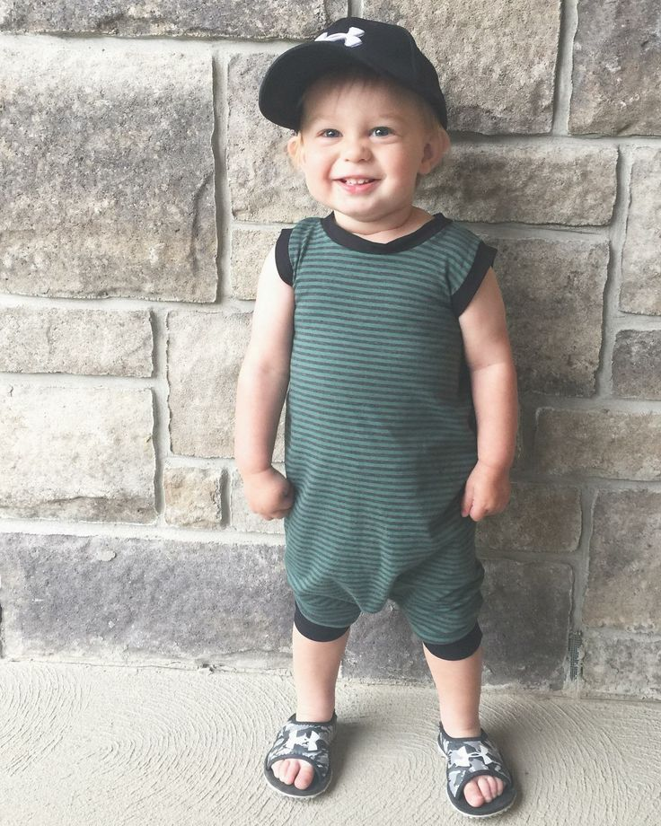 Romper. Bamboo. Baby clothes. Baby boy fashion. Lil Slouchies.